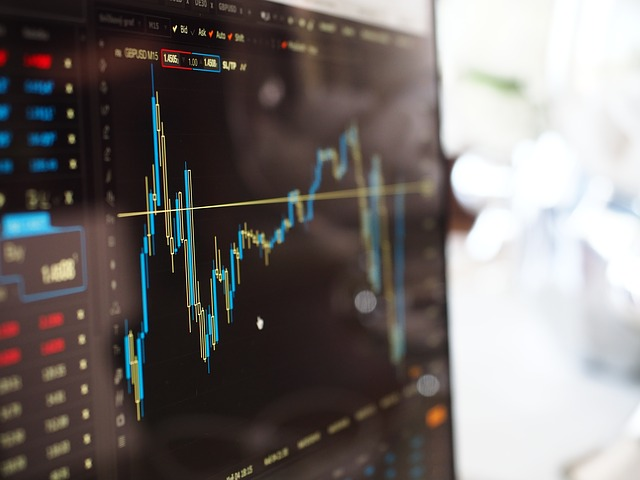 Stock trading visuals
