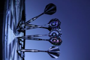 Target board and darts