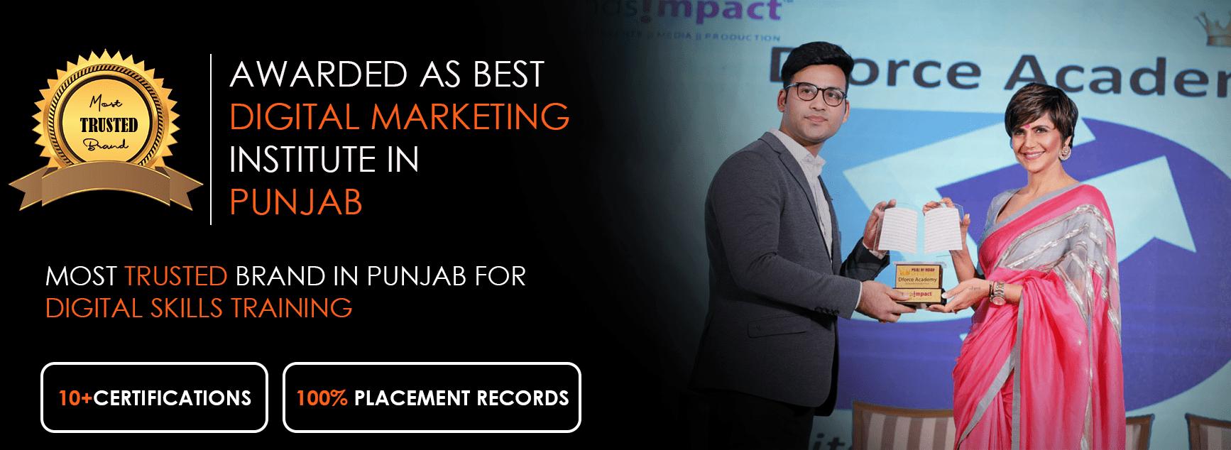 Best Digital marketing course in Punjab